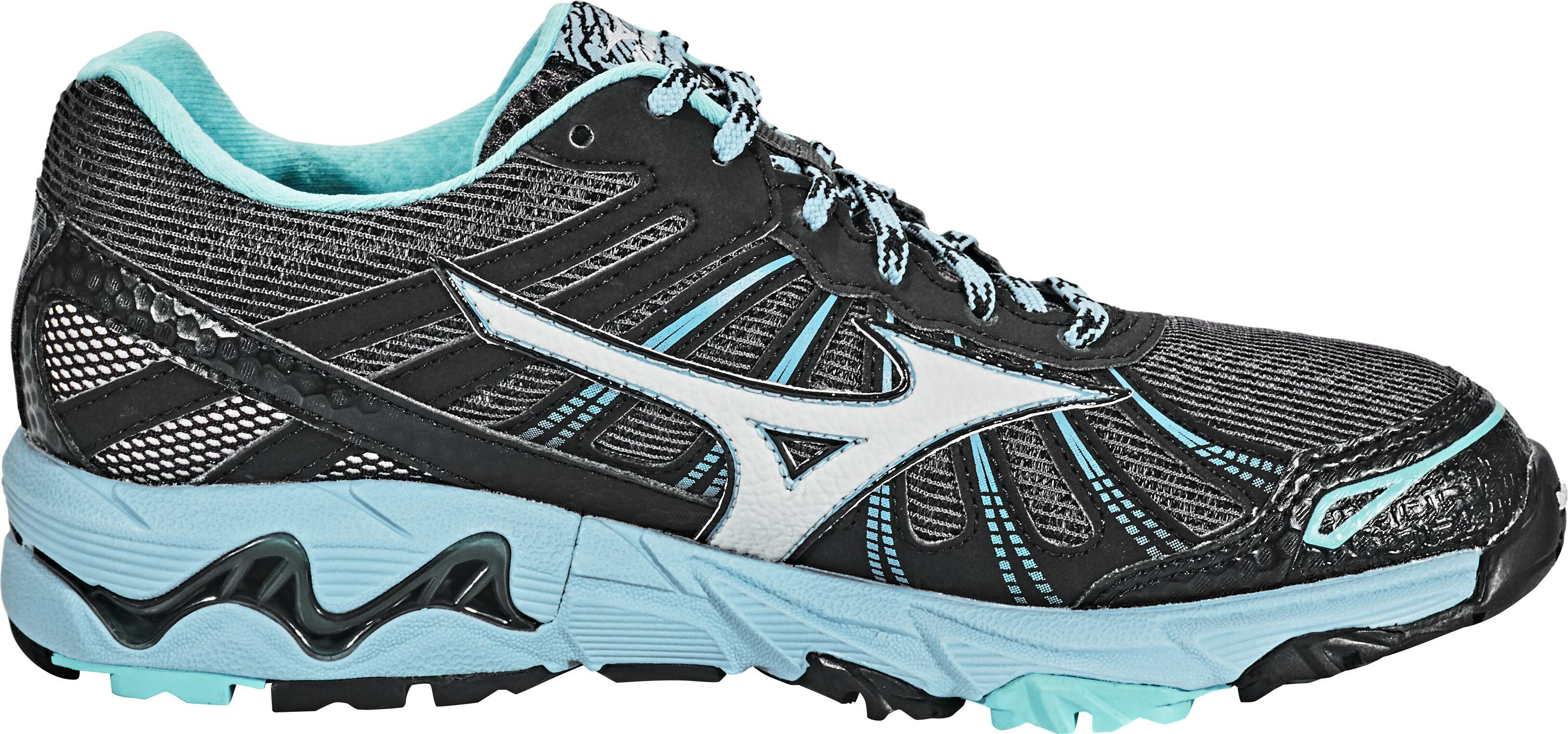 reputable site 4a83e 81fc2 Mizuno Wave Mujin 3 G-TX Running Shoes Women grey turquoise